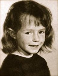 Julie ward as a child